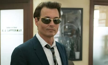 Johnny Depp stars in The Rum Diary