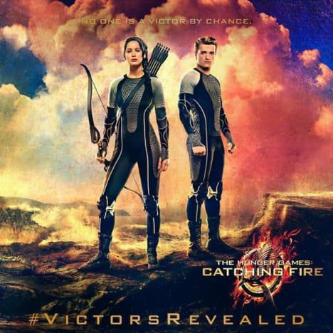 Peeta and Katniss Victor Banner