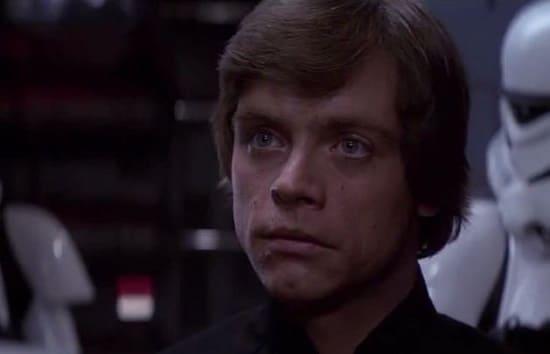 Mark Hamill is Luke Skywalker