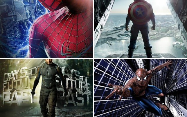 Top 11 highest grossing superhero movies the amazing spider man 2