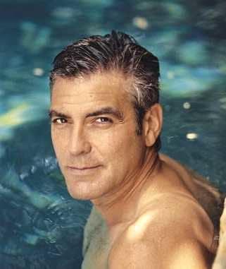 George Clooney Shirtless