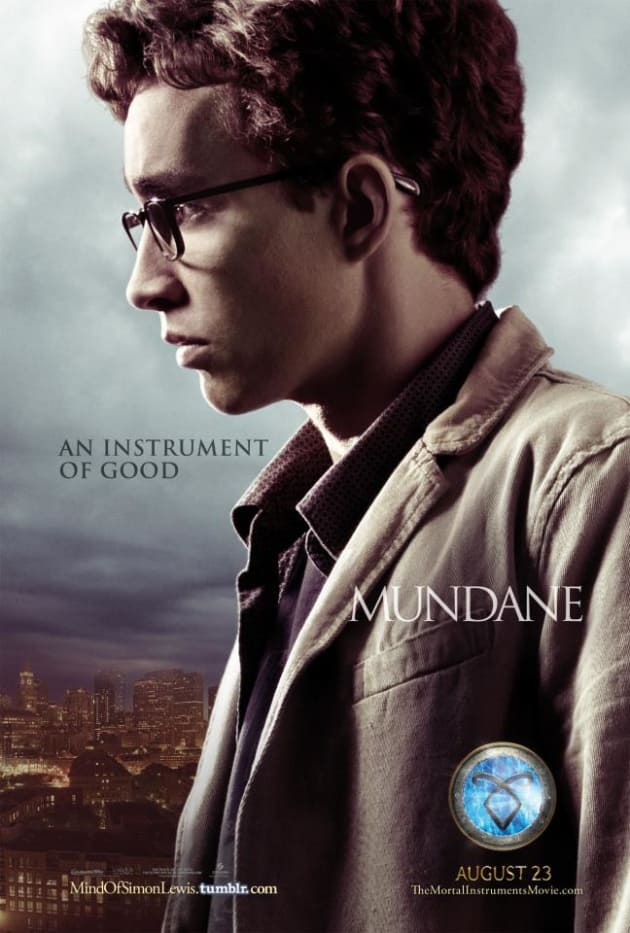 The Mortal Instruments: City of Bones Simon Lewis Poster