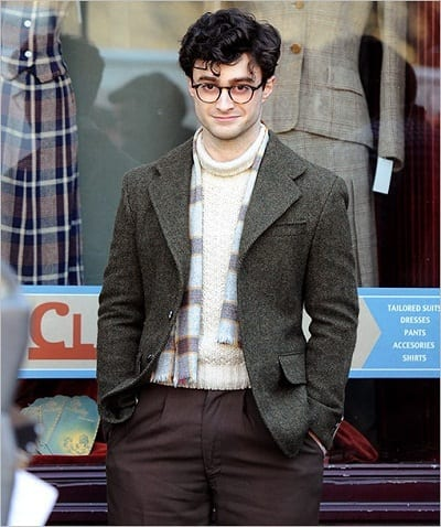 Daniel Radcliffe is Allen Ginsberg