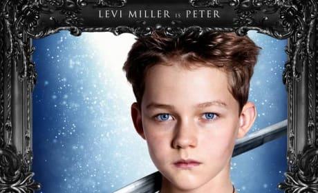 Pan Levi Miller Poster
