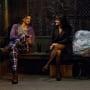 Lea Michele and Ashton Kutcher in New Year's Eve