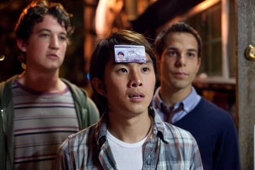 Miles Teller Justin Chon and Skylar Astin 21 and Over