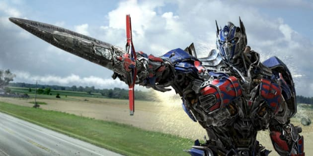 Optimus prime in transformers age of extinction