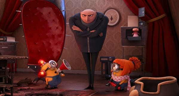 Despicable Me 2 Gru and His Minions
