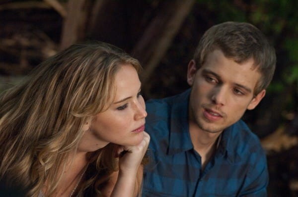 Jennifer Lawrence Max Thieriot House at the End of the Street Still