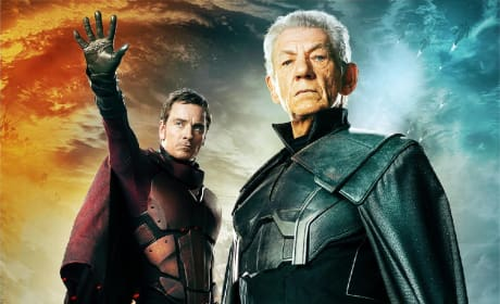 X-Men Days of Future Past Character Posters: The Two Magnetos!