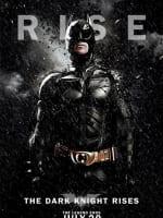The Dark Knight Rises Rain Character Poster: Batman