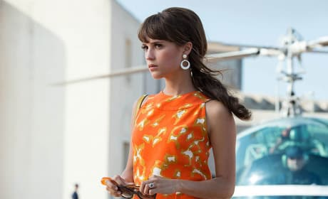 The Man from U.N.C.L.E. Alicia Vikander