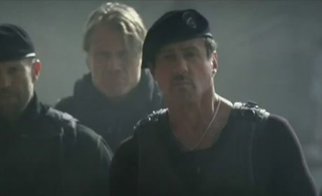 The Expendables 2 TV Spot: Shoot Something!