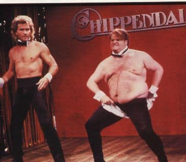 Chris Farley Chippendales