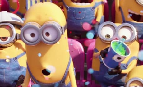 Minions Super Bowl Teaser: Painting The Big Game Yellow!
