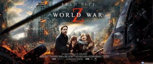 World War Z Poster: Brad Pitt