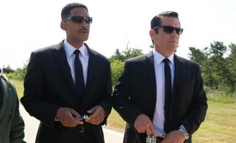 Will Smith and Josh Brolin in Men in Black 3