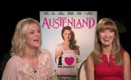 "Jane Seymour Talks ""Living My Own Austenland Experience"""