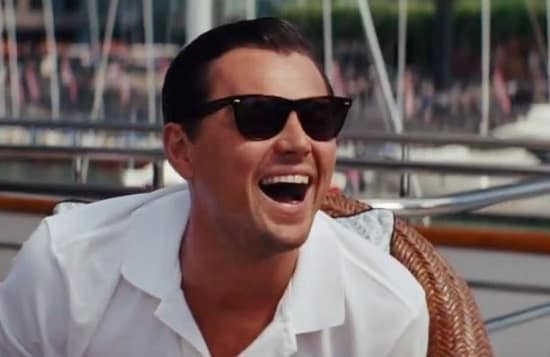 The Wolf of Wall Street Stars Leonardo DiCaprio