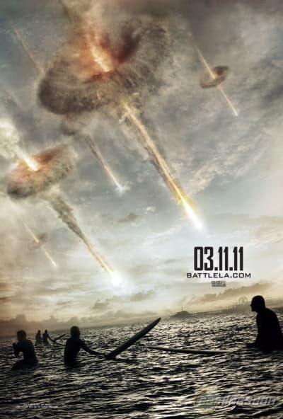 Battle Los Angeles Surfer Poster