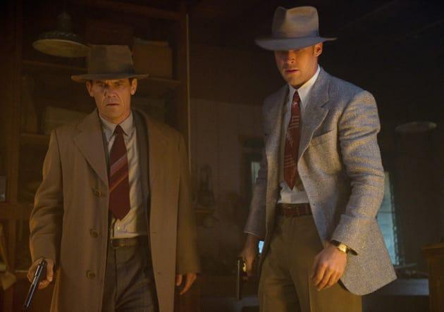 Josh Brolin Ryan Gosling in Gangster Squad