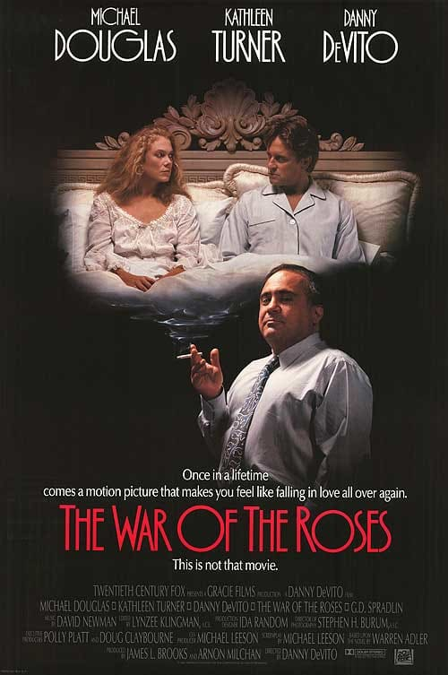 War of the Roses Poster