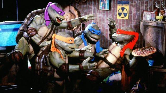 Teenage Mutant Ninja Turtles Pizza