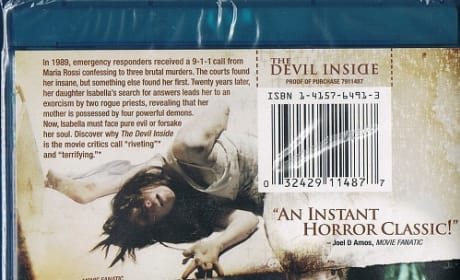 Movie Fanatic on The Devil Inside Blu-Ray