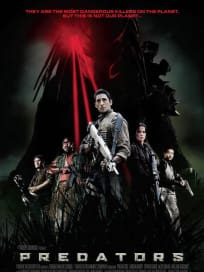 Predators International Poster Black