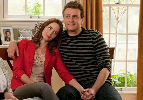 Jason Segel and Emily Blunt in Five Year Engagement