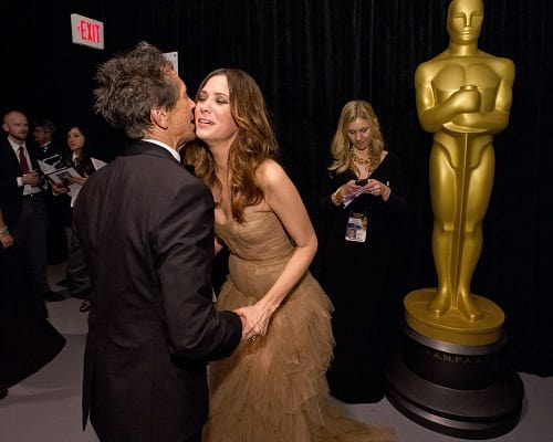 Kristen Wiig and Brian Grazer at the Oscars