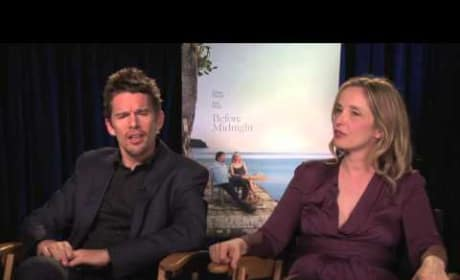Before Midnight: Ethan Hawke & Julie Delpy Talk Movie Couple Sequels