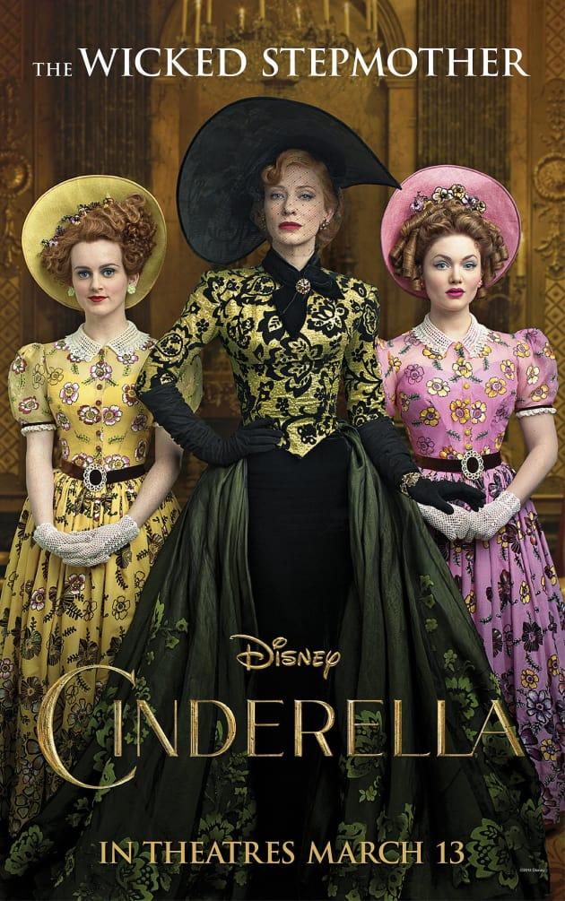 Cinderella Cate Blanchett Poster