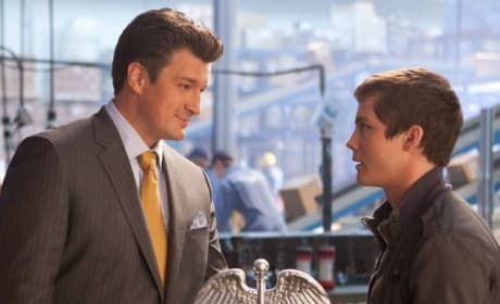 Percy Jackson Sea of Monsters Logan Lerman Nathan Fillion