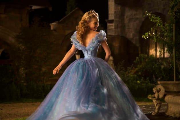 Lily James is Cinderella