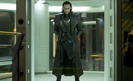 Tom Hiddleston Stars in The Avengers