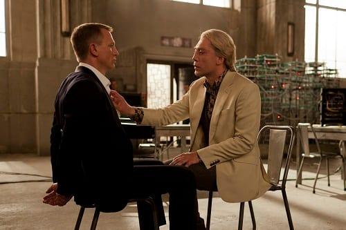 Daniel Craig Javier Bardem Skyfall