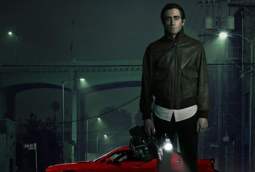 Jake Gyllenhaal Nightcrawler Poster
