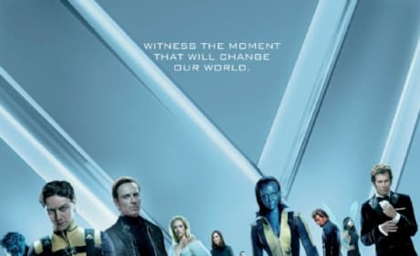 X-Men: First Class UK Poster