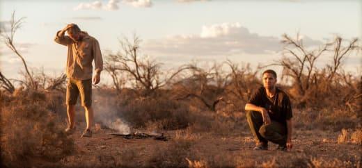 The Rover Robert Pattinson Guy Pearce