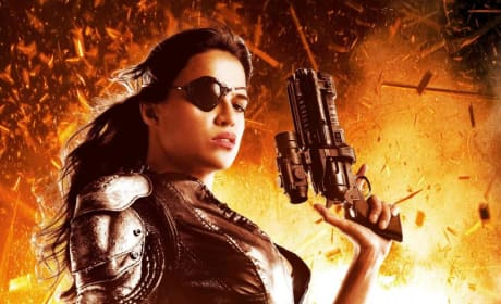 Machete Kills Character Poster: Michelle Rodriguez as Shé