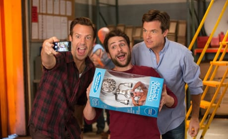 Charlie Day Jason Sudeikis Jason Bateman Horrible Bosses 2