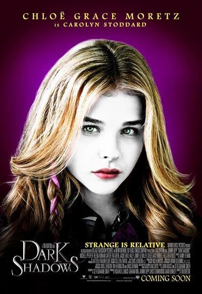 Chloe Grace Moretz Dark Shadows Character Poster
