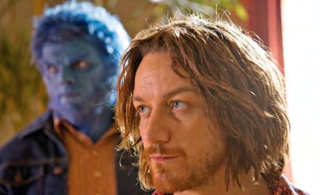 X-Men Days of Future Past James McAvoy Nicholas Hoult