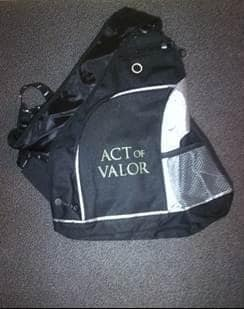 Act of Valor Prize Pack: Backpack