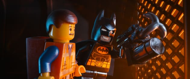 The LEGO Movie Batman Emmet