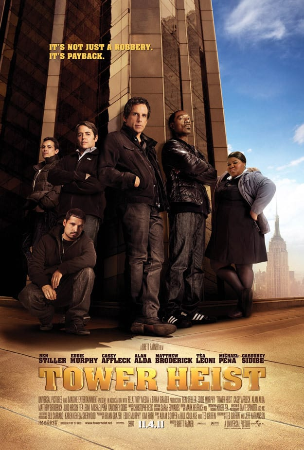 Tower Heist Poster: First Look
