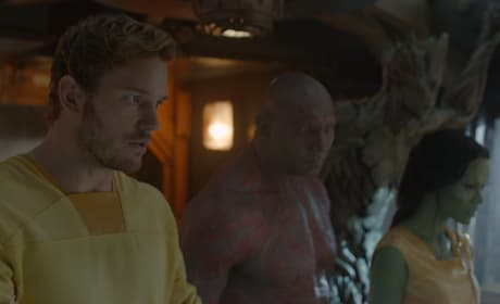 Guardians of the Galaxy Chris Pratt Dave Bautista Zoe Saldana