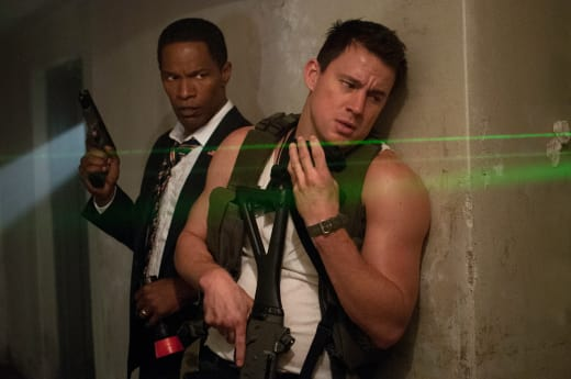 White House Down Channing Tatum Jamie Foxx