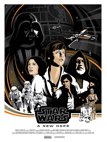 Star Wars Poster: New Hope
